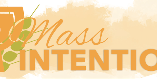 Mass Intentions Available
