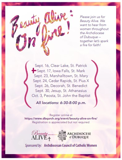 Beauty Alive at St. Mark - Sept. 17