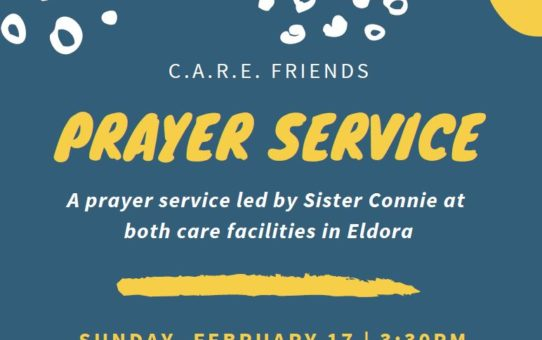 C.A.R.E. Friends Prayer Service – February 17