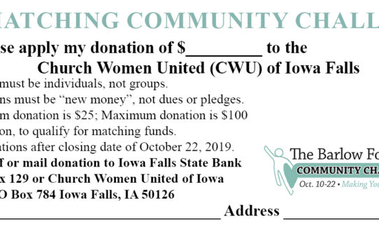 Support CWU Thrift Store