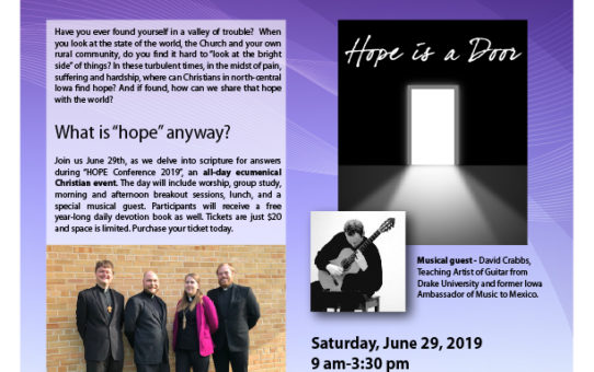 Hope Conference – June 29