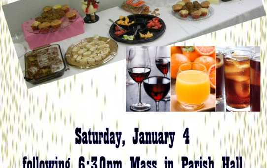 Drink & Snack Social at St. Mark