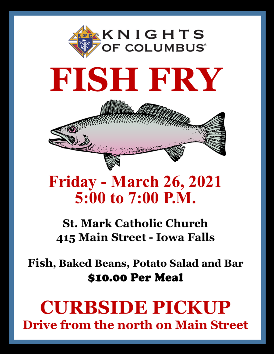 St. Mark Fish Fry - March 26