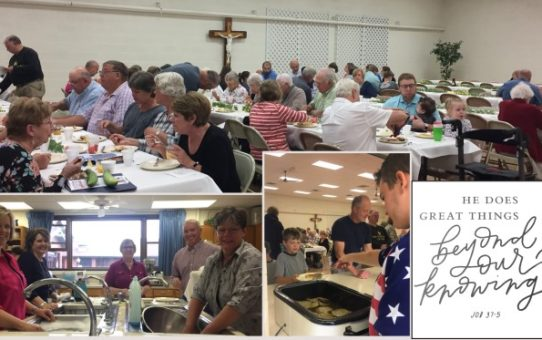 St. Mary Appreciation Breakfast – THANK YOU!
