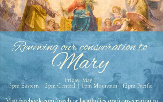 May 1: Consecration of the U.S. to Mary